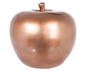 Pomme décorative dolomite, bronze - Ø26