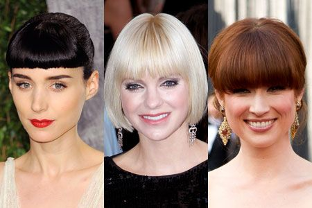 Three's a trend! Rooney Mara, Anna Faris, and Ellie Kemper at the 2012 Oscars