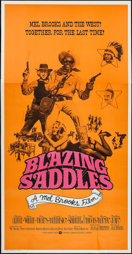 """BLAZING SADDLES"" 1974"