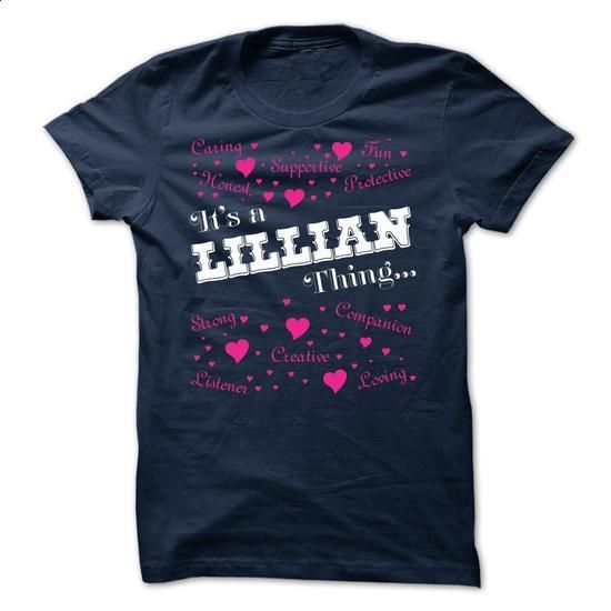 Its a Lillian thing - Limited Edition - cheap t shirts #slogan tee #tee aufbewahrung