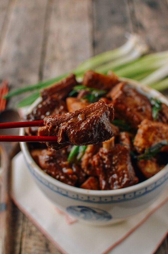 Braised Pork Ribs with Taro
