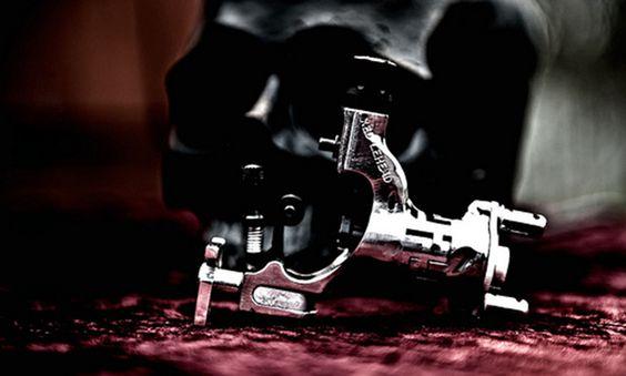 Tipos de Máquinas de Tatuar: Rotativa - http://www.tatuantes.com/tipos-de-maquinas-de-tatuar-rotativa/