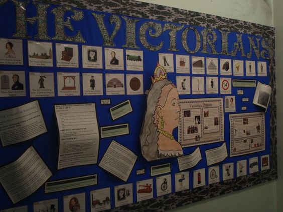 The Victorians Display, Classroom Display, class display, history, past, old, Victorians, Queen Victoria, Early Years (EYFS), KS1 & KS2 Primary Resources