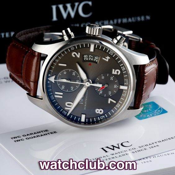 Iwc Spitfire Grey