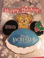 Disney Happy Holidays 2013 – Disney's Yacht Club Resort Duffy Bear Pin