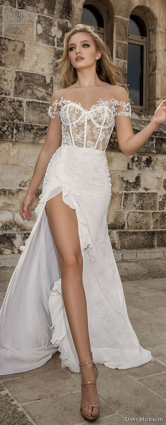 "Dany Mizrachi Spring 2018 Wedding Dresses — ""Jerusalem"" Bridal Collection"