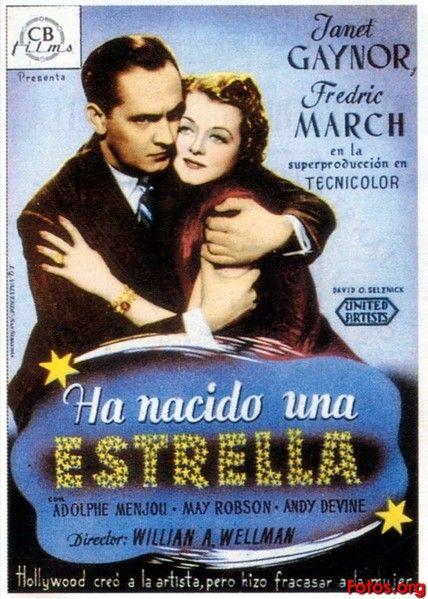 Ha nacido una estrella (1937) EEUU. Dir: William A. Wellman. Drama. Cine dentro do cine - DVD CINE 800