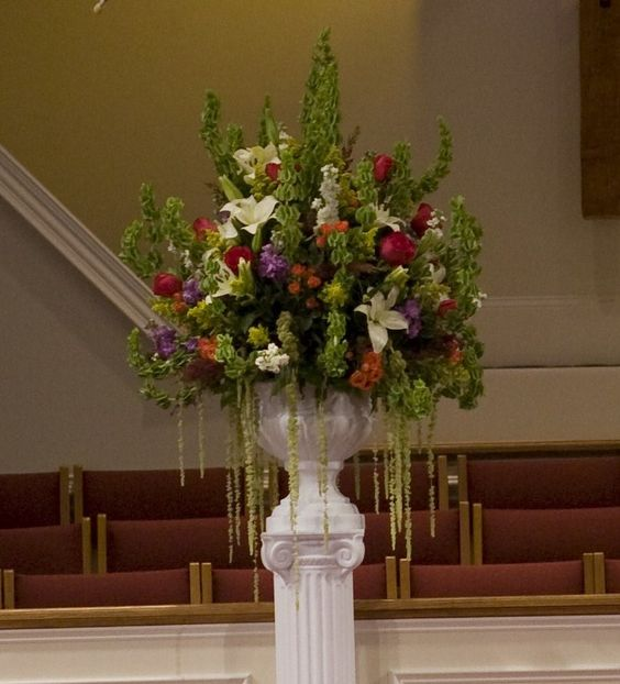 Altar Flowers, Vase And Flower On Pinterest