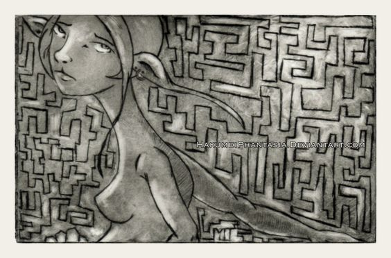 Solitude - Drypoint on Plexi. One of my favs by my daughter!
