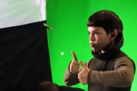 #Jacob #Kogan as (ADORABLE) child #Spock