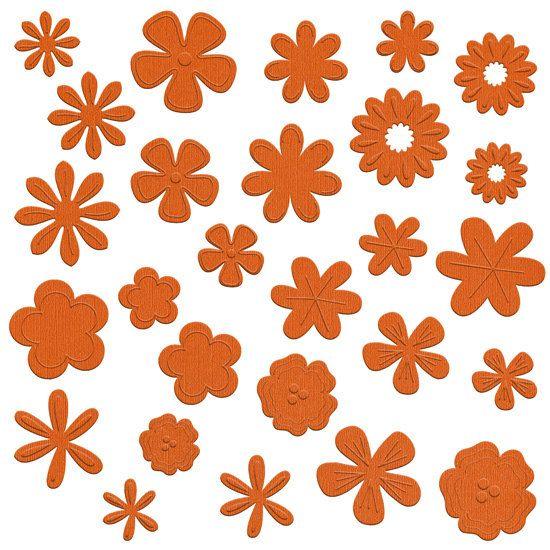 NEW    Bazzill Basics Flower Pot   108 pieces    by sagebrush12, $5.00