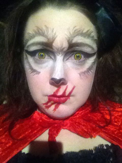 Dead Riding Wolf make up :)