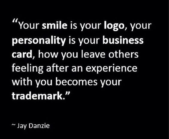 How true is this, especially in the intensely-personal retail world of consignment, resale and thrift!   (Jay Danzie's Facebook page.):