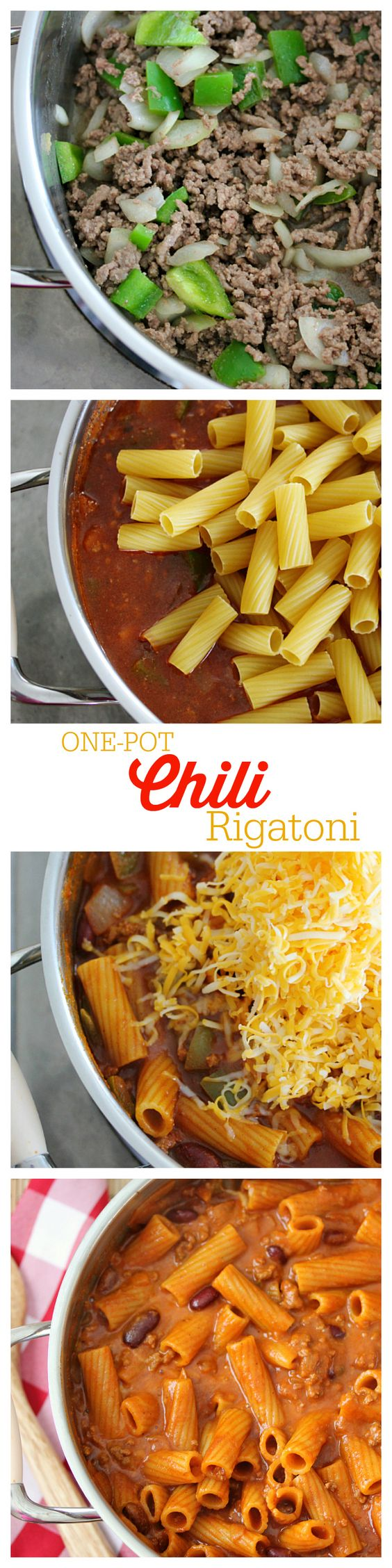 One-Pot Chili Rigatoni