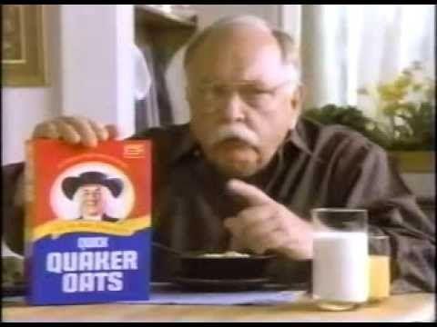 Quaker Oats W/ Wilfred Brimley (1991) - YouTube | Oats quaker ...