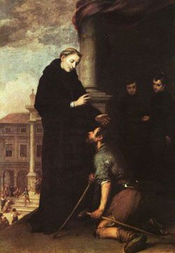 St. Thomas of Villanova O.S.A. (1488–1555) was a Spanish friar of the Order of Saint Augustine who was a noted preacher, ascetic and religious writer of his day. He became an archbishop who was famous for the extent of his care for the poor of his see. Feastday, September 22