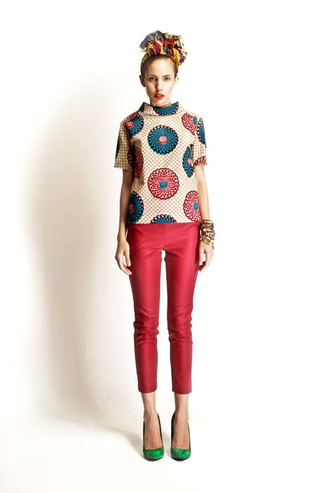 Style Pantry | Stella Jean Spring Summer 2012 Collection