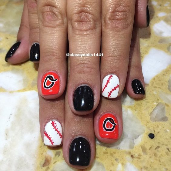 Fun Orioles nails!