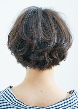 マシュマロチックなときめきショートボブ Best Hair Search ベストヘアサーチ Voce ヴォーチェ ショートボブ ヘアカット ボブカット