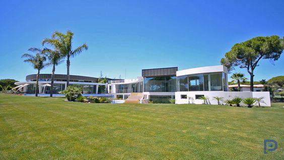 Grand Design - Fabulous Ultra Modern Exclusive Villa Vilamoura -PortugalProperty.com #luxurymodernhomes