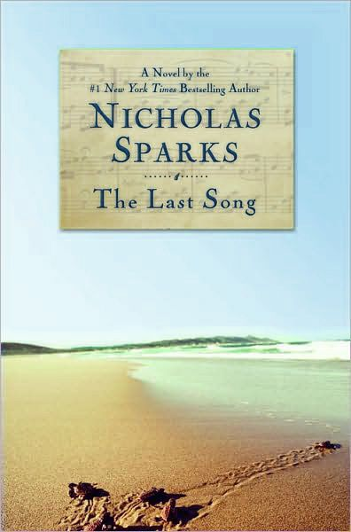 The Last Song by Nicholas Sparks..Such a wonderful read..Have tissues ready!