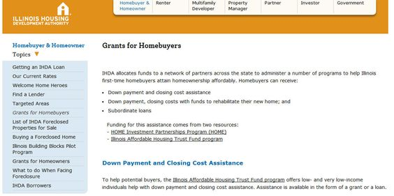 Illinois First Time Home Buyer Grants