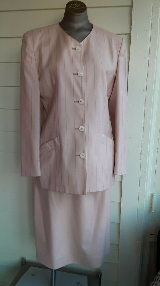 Austin Reed Women S Suit Pink 80s Vintage Jacket Skirt Size 10 Skirtsuit Suits For Women Vintage Jacket Jackets
