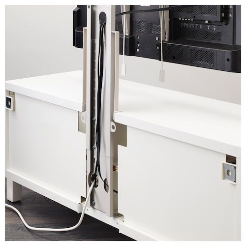 Pannello Porta Tv Orientabile Ikea.Uppleva Supporto Per Tv Girevole Grigio Chiaro Nel 2020 Ikea