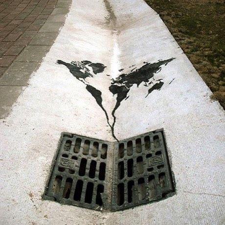 O que passa na sua cabeça ao ver essa imagem? Reflita, e nos dê seu ponto de vista... #planet #greencobrasil #ecology #ecofriendly #eco #estilo #lifestyle #bemestar #cuidardoplaneta #recylce