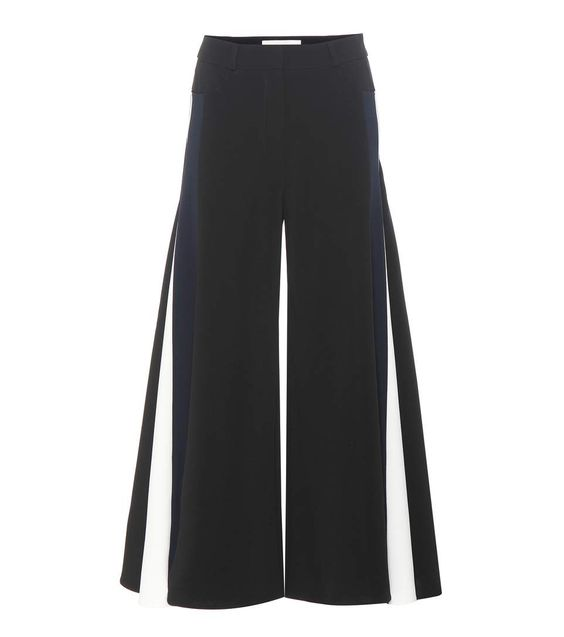 PETER PILOTTO Crêpe Wide-Leg Trousers. #peterpilotto #cloth #trousers