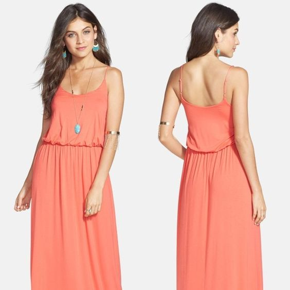 Lush Beach Red Maxi dress Lush Beach Red Maxi dress with a lot of use, ok conditions. Is medium and it make you look skinner that what you are. Lush Dresses Maxi