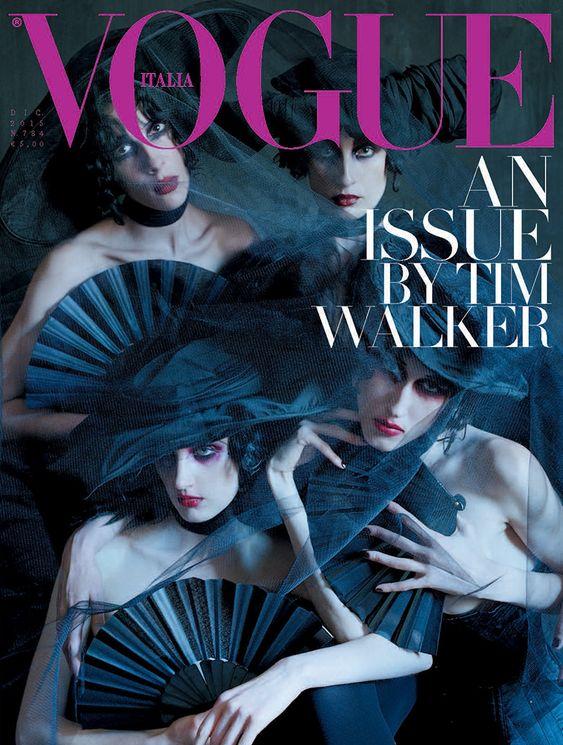 Jamie Bochert by Tim Walker Vogue Italia December 2015