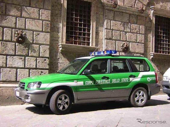 こっちのほうがカッコイイ!イタリア森林警察。森林!フォレスター!