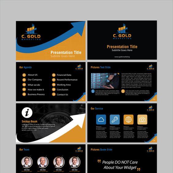 Marketer Needs AMAZING Powerpoint Design by mhaseeb