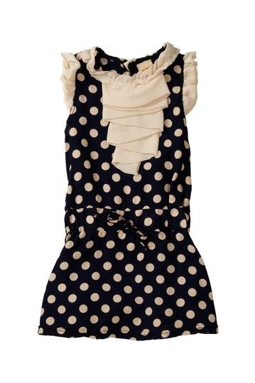 Polka Dot Chiffon Detailed Tunic/Dress on HauteLook