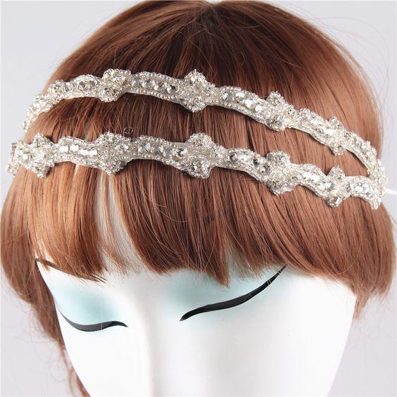 Moda hechos a mano de la boda diadema cinta Rhinestone nupcial accesorios para el cabello diademas para para HG110 en Joyas para Cabello de Joyería en AliExpress.com | Alibaba Group