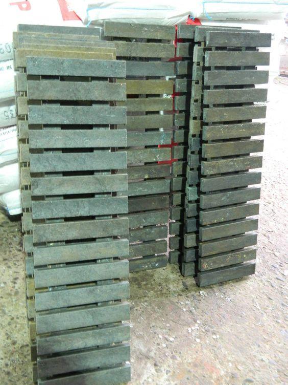 Rejillas de sumideros de madera plástica