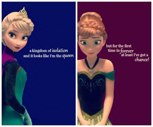 Elsa and Anna quotes | Elsa Frozen | Pinterest | Disney ...
