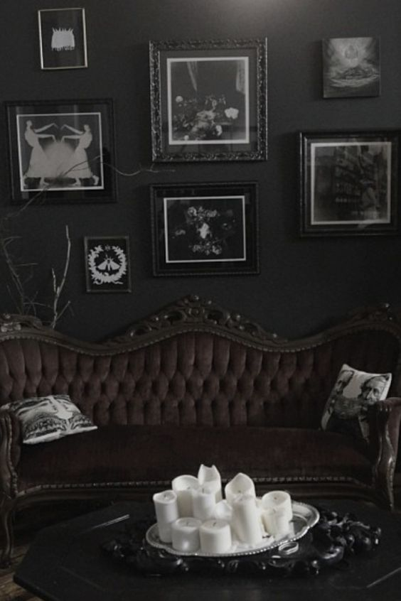 Dark Living Room Ideas: Awesome Horror Decor That You'll Want In Your Home