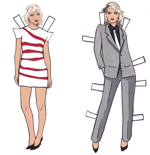 DEBBIE HARRY PAPER DOLL BOOK