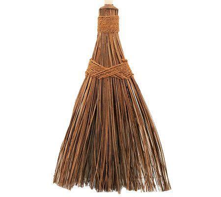 The Original Outdoor Coconut Palms Garden Broom Qvc Com