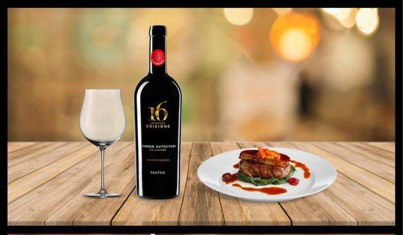 Rượu Vang 16 Edizione Limited 14,5% - Chai 750ml