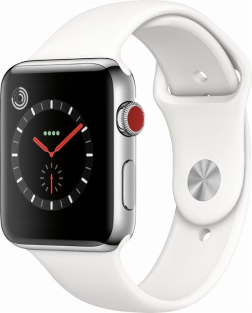 Apple Watch Series 3 Gps Cellular 42mm Stainless Steel Case