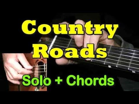 Country Roads Easy Guitar Cover Tab Solo Chords By Guitarnick Youtube Easy Guitar Easy Guitar Tabs Acoustic Guitar Lessons