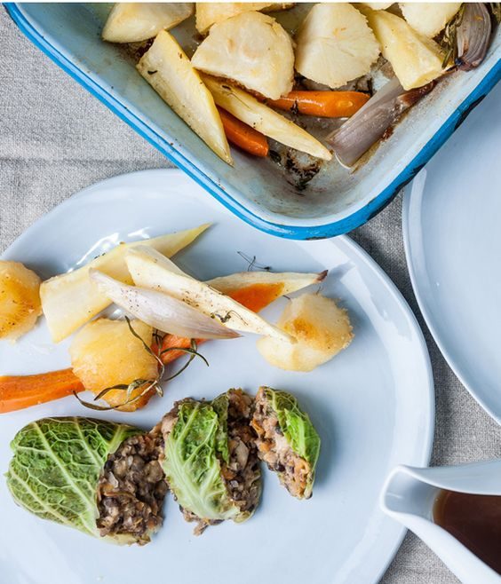 While most kids won't be able to stomach the thought of conventional haggis, this vegetarian haggis recipe from Scottish chef Graham Campbell is easily palatable and fun to put together.
