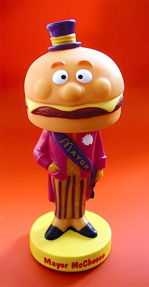 Mayor Mccheese Funko Figure Mcdonaldland With Ronald Mcdonald Pop Culture Bobblehead Toy Funko Figures Happy Meal Toys Mcdonalds The mayor of mcdonaldland, the fictional world of mcdonald's commercials. mayor mccheese funko figure