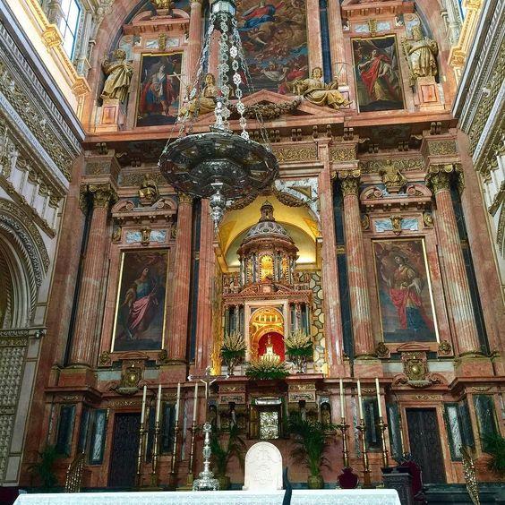 Altar principal uma obra prima na Catedral de Córdoba! by silvinhacff