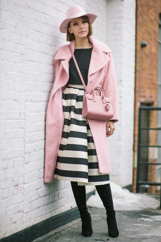 Pretty in pink #streetstyle. #fashion #nyfw #nyfw2015 #style #fbloggers