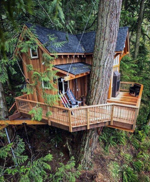 Google Tree House Designs Tree House Diy Beautiful Tree Houses