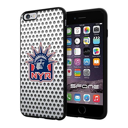 "New York Rangers White Net #2209 iPhone 6 Plus (5.5"") I6+ Case Protection Scratch Proof Soft Case Cover Protector SURIYAN http://www.amazon.com/dp/B00X5T8Y9C/ref=cm_sw_r_pi_dp_cQICvb058F04M"